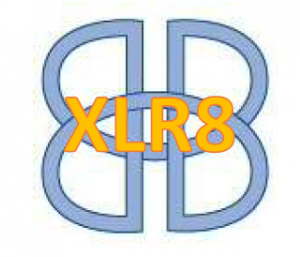 XLR8 Logo