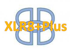 XLR8 Plus Logo